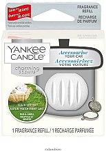 Parfüm, Parfüméria, kozmetikum Autóillatosító (utántöltő blokk) - Yankee Candle Charming Scents Refill Clean Cotton