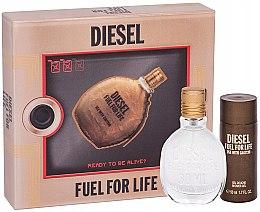 Parfüm, Parfüméria, kozmetikum Diesel Fuel for Life Homme - Készlet (edt/50ml + sh/gel/50ml)
