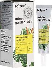 Parfüm, Parfüméria, kozmetikum Szemkörnyékápoló krém - Tolpa Urban Garden 40+ Anti-Age Eye Cream