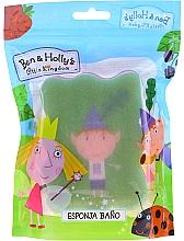 """Parfüm, Parfüméria, kozmetikum Gyerek fürdőszivacs """"Ben és Holly apró királysága"""", Ben, zöld-rózsaszín - Suavipiel Ben & Holly Bath Sponge"""