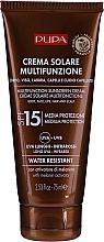 Parfüm, Parfüméria, kozmetikum Hidratáló napvédő krém SPF 15 - Pupa Multifunction Sunscreen Cream