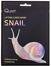 Parfüm, Parfüméria, kozmetikum Lifting hatású maszk - Quret Lifting Care Mask Snail