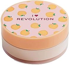 Parfüm, Parfüméria, kozmetikum Por púder barackos - I Heart Revolution Loose Baking Powder Peach