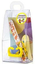 Parfüm, Parfüméria, kozmetikum Gyerek manikűr készlet, 4021-1, 4 eszköz, sárga - Tweezerman Baby Manicure Kit