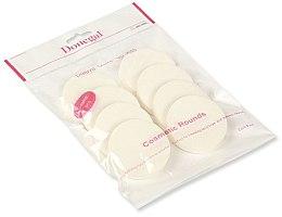 Parfüm, Parfüméria, kozmetikum Sminkszivacs, fehér 8 db. 4302 - Donegal Sponge Make-Up