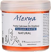Parfüm, Parfüméria, kozmetikum Szőrtelenítő cukorgyanta - Alexya Sugar Paste For Depilation Natural