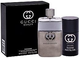 Parfüm, Parfüméria, kozmetikum Gucci Guilty Eau Pour Homme - Szett (edt/90ml + deo/75ml)