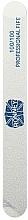 Parfüm, Parfüméria, kozmetikum Körömreszelő, 100/100, fehér, egyenes - Ronney Professional