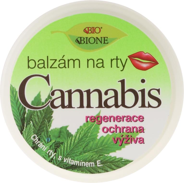 Ajakápoló balzsam - Bione Cosmetics Cannabis Lip Balm with UV Filter and Vitamin E