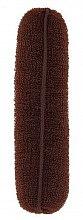 Parfüm, Parfüméria, kozmetikum Konytalátét, barna, 150 mm - Lussoni Hair Bun Roll Brown