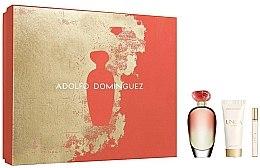 Parfüm, Parfüméria, kozmetikum Adolfo Dominguez Unica Coral - Szett (edt/100/ml+edt/10/ml+b/lotion/75/ml)
