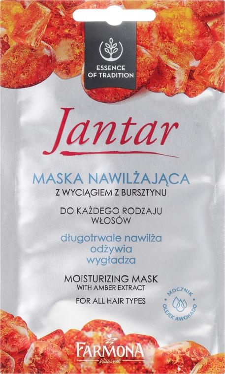 Hidratáló maszk borostyán kivonattal - Farmona Jantar
