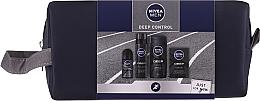 Parfüm, Parfüméria, kozmetikum Szett - Nivea Men Deep Control 2020 (sh/gel/250ml + ash/lot/100ml + foam/200ml + deo/50ml + bag)