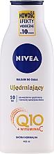 Parfüm, Parfüméria, kozmetikum Feszesítő és hidratáló testápoló Q10 plus normál bőrtípusra - Nivea Q10 PLUS Body Lotion