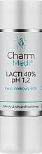 Parfüm, Parfüméria, kozmetikum Tejsav 20% - Charmine Rose Charm Medi Lacti 40% pH 1.2