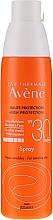 Parfüm, Parfüméria, kozmetikum Napvédő spray érzékeny bőrre SPF30 - Avene Solaires Haute Protection Spray SPF 30