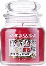 Parfüm, Parfüméria, kozmetikum Aromagyertya üvegben - Yankee Candle Christmas Magic