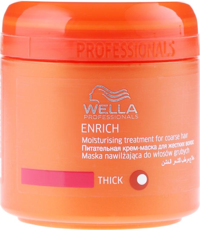 Hidratáló maszk kezelhetetlen hajra - Wella Professionals Enrich Moisturizing Treatment — fotó N1