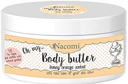 Parfüm, Parfüméria, kozmetikum Testvaj Narancs Sörbet - Nacomi Body Butter Sunny Orange Sorbet