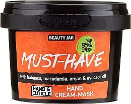 Parfüm, Parfüméria, kozmetikum Kézápoló krém-maszk - Beauty Jar Must-Have Hand Cream-Mask