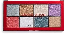Parfüm, Parfüméria, kozmetikum Glitter paletta - Makeup Revolution Halloween 2019 Pressed Glitter Palette