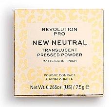 Parfüm, Parfüméria, kozmetikum Átlátszó arcpúder - Revolution Pro New Neutral Translucent Pressed Powder