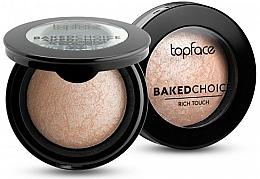 Parfüm, Parfüméria, kozmetikum Préselt highlighter - Topface Baked Choice Rich Touch Highlighter
