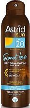 Parfüm, Parfüméria, kozmetikum Száraz olaj-spray napozáshoz SPF20 - Astrid Sun Easy Spray Coconut Love SPF20