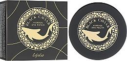 Parfüm, Parfüméria, kozmetikum Hidrogél szemtapasz fekete kaviárral - Esfolio Black Caviar Hydrogel Eye Patch
