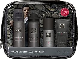 Parfüm, Parfüméria, kozmetikum Szett - Rituals The Ritual of Samurai Essentials Travel Set (foam/gel/50ml + sh/foam/50ml + cr/30ml + deo/50ml + bag)