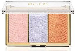 Parfüm, Parfüméria, kozmetikum Highlighter paletta - Milani Stellar Lights Highlighter Palatte