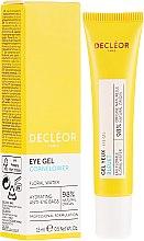 Parfüm, Parfüméria, kozmetikum Szemkörnyékápoló hidratáló krém-gél - Decleor Hydra Floral Everfresh Hydrating Wide-Open Eye Gel