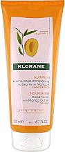 Parfüm, Parfüméria, kozmetikum Hajkondicionáló - Klorane Nourishing Conditioner With Mango Butter
