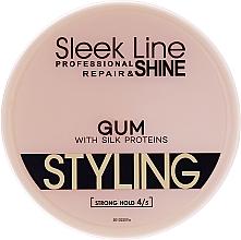 Parfüm, Parfüméria, kozmetikum Hajformázó zselé - Stapiz Sleek Line Styling Gum With Silk