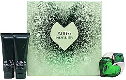 Parfüm, Parfüméria, kozmetikum Mugler Aura Mugler - Szett (edp/30ml + b/lot/50ml + sh/gel/50ml)
