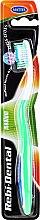 Parfüm, Parfüméria, kozmetikum Fogkefe Rebi-Dental M42, félkemény, zöld - Mattes
