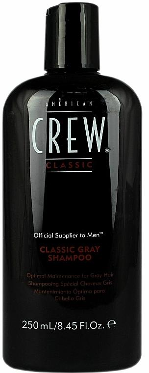 Sampon ősz hajra - American Crew Classic Gray Shampoo — fotó N1