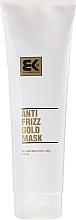 Parfüm, Parfüméria, kozmetikum Helyreállító maszk sérült hajra - Brazil Keratin Anti Frizz Gold Mask