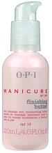 Parfüm, Parfüméria, kozmetikum Hidratáló masszázs krém-olaj kézre - O.P.I. Manicure Finishing Butter SPF 15