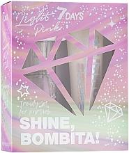 Parfüm, Parfüméria, kozmetikum Szett - 7 Days Shine, Bombita! Light Pink (b/mist/135ml + b/milk/150ml)