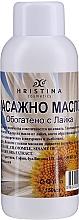 Parfüm, Parfüméria, kozmetikum Masszázsolaj kamillával - Hristina Cosmetics Chamomile Massage Oil
