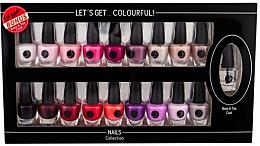 Parfüm, Parfüméria, kozmetikum Szett - Cosmetic 2K Let'S Get Colourful! (nail/laquer/19x3,5ml)