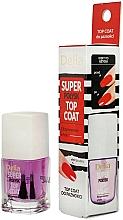 Parfüm, Parfüméria, kozmetikum Mega-csillogó körömlakk fixáló - Delia Super Gloss Top Coat