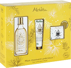 Parfüm, Parfüméria, kozmetikum Szett - Melvita L'Or Bio Set (soap/20g + oil/50ml + h/cr/30ml)