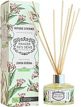 """Parfüm, Parfüméria, kozmetikum Aromadiffúzor """"Vasfű"""" - Panier Des Sens Lemon Verbrna Reed Diffuser"""