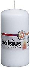 Parfüm, Parfüméria, kozmetikum Henger gyertya, fehér, 120x60 mm - Bolsius Candle
