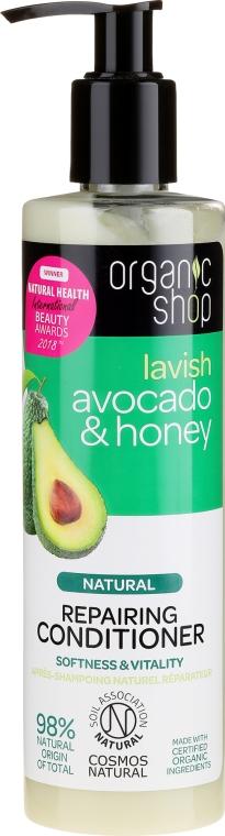Hajbalzsam - Organic Shop Avocado & Honey Repairing Conditioner