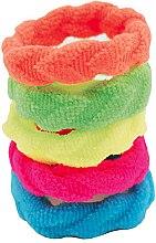 Parfüm, Parfüméria, kozmetikum Hajgumi szett, színes, 5 db - IDC Institute Design Hair Bands Pack