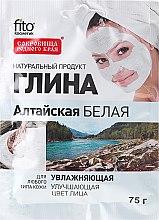 """Parfüm, Parfüméria, kozmetikum Arc és testápoló agyag """"Altai"""" fehér, hidratáló - FitoKosmetik"""