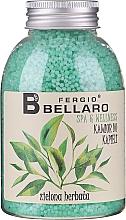 "Parfüm, Parfüméria, kozmetikum Puhító fürdőgyöngyök ""Zöld tea"" - Fergio Bellaro Green Tea Bath Caviar"